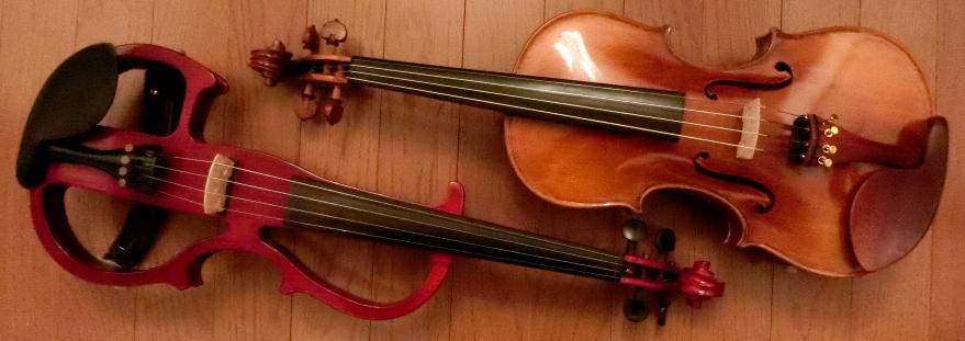 バイオリン2台