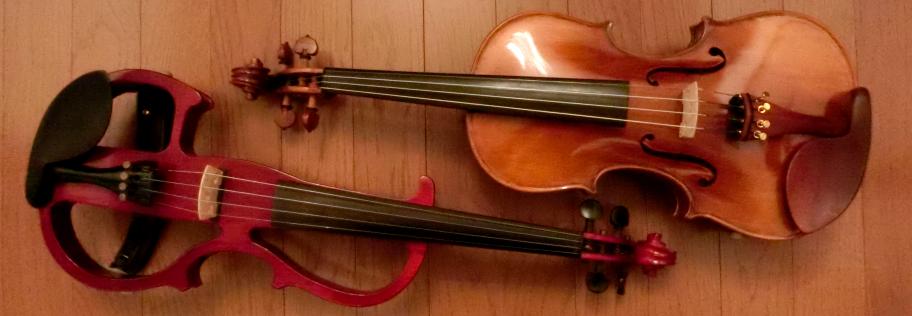 2台のバイオリン